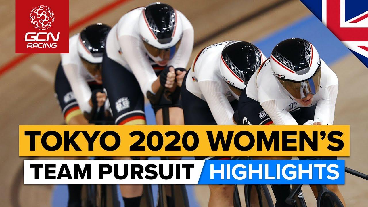 Tokyo 2020 Women's Team Pursuit Final Highlights