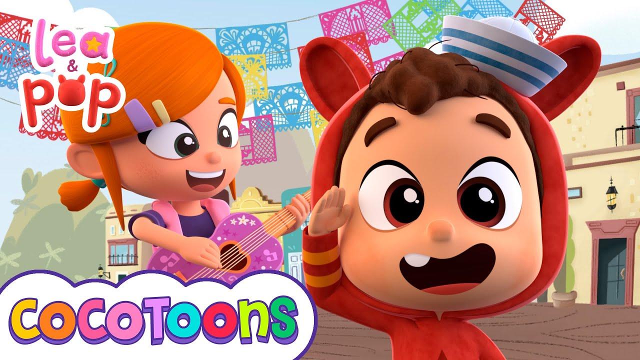 La Bamba - Canciones infantiles de Lea y Pop | Cocotoons