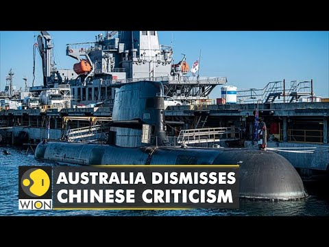 Australia shrugs off Chinese anger on submarine deal   WION Latest News   English News