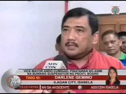 TV Patrol Cagayan Valley - November 24, 2015