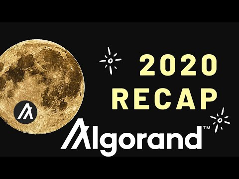 Algorand 2020 Recap (2020 Report) | Top Events Of 2020 In Algorand Blockchain