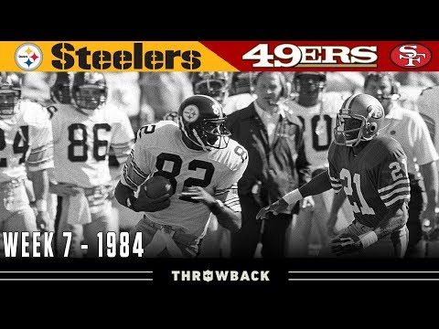 Young & Old Dynasties Collide! (Steelers vs. 49ers, 1984)