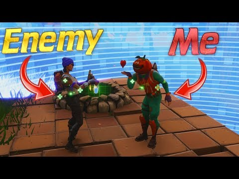 """WORLDS FIRST """"Making Friends with the last guy alive"""" Fortnite Battle Royale"""