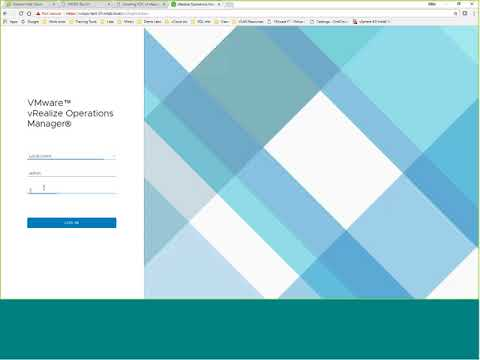vRealize Operations Manager 6.6 Install
