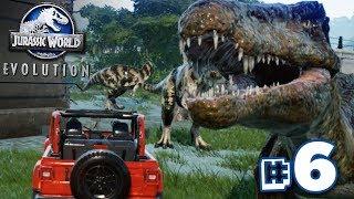 THE STORM THAT DESTROYED!!! - Jurassic World Evolution - HARD CHALLENGE MODE | Ep6 HD