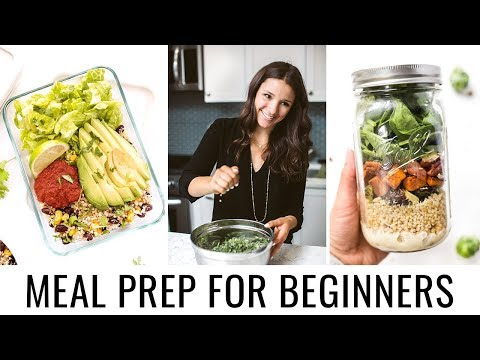 MEAL PREPPING FOR BEGINNERS | 5 tips to get you started!