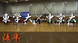 東海学園大学B×中京大学B(後半) 東海学生ハンドボール選手権大会 2018
