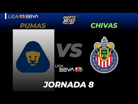 U.N.A.M. Pumas Guadalajara Chivas Goals And Highlights