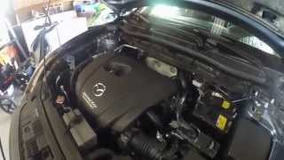 2015 Mazda CX-5 GT: Episode 7 Vlog: Oil Change and Fumoto Valve Installation(Oil Change and Fumoto Valve Installation Fumoto F106N: http://amzn.to/2aaNLNT This is the first oil change I have done on this CX5, just before 5000 miles., 2014-12-14T20:58:19.000Z)