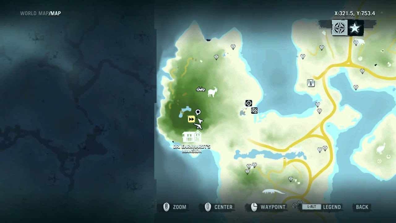 far cry 3 map legend