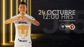 Resumen   Pumas UNAM 3  1 Tijuana   Liga MX  Apertura 2021  Jornada 15   PumasMX