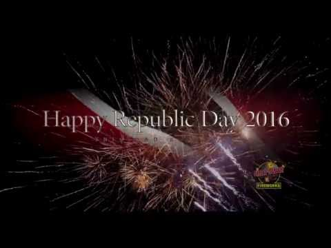 Firepower Fireworks - Republic Day Trinidad & Tobago 2016.