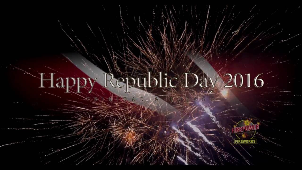 write a report on republic day trinidad