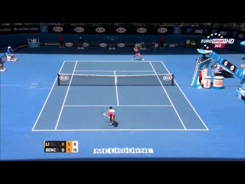 2014 Australian Open Li Na Top10 Shots BGM