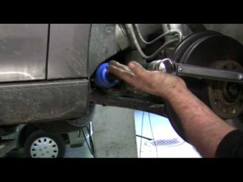 Speedy inner tie rod removal tool - YouTube