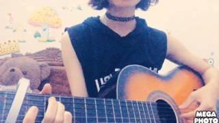 Lắng nghe tim em guitar cover by Hường Kẹo