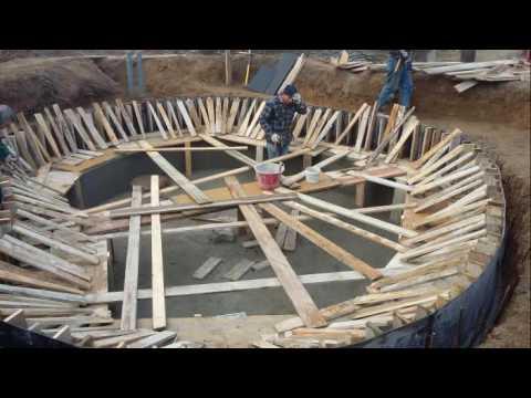 costruzione laghetto artificiale1 youtube