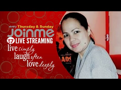 Mia's Cakes 37th Livestreaming:  Live Simply, Laugh Often, Love Deeply