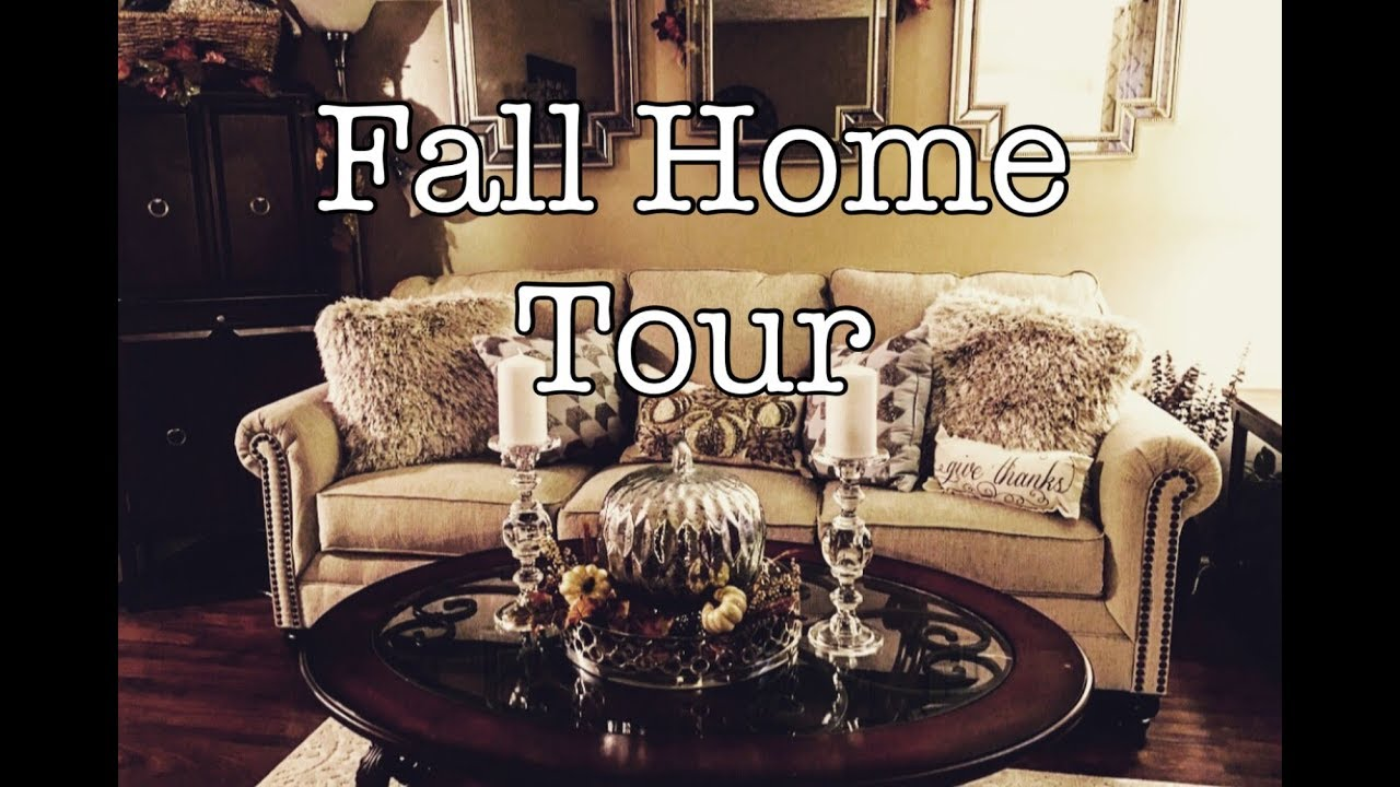 Fall Decor Home Tour Fall Traditional Glam The Green