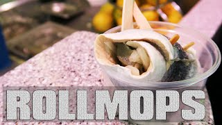 Rollmops Haring (pickled herring) dutch fish food review Netherlands