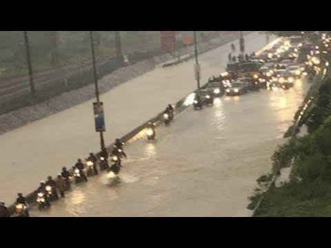 Air naik di ibu kota