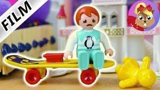 摩比游戏 Playmobil 玩偶影片 艾玛找朋友一起做游戏 玩