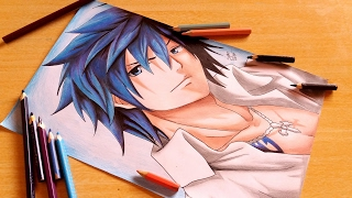 Speed Drawing - Gray Fullbuster ( Fairy Tail )