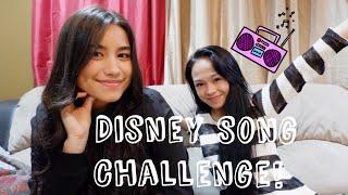 Disney Song Challenge w/Ate Mika // Andree Bonifacio