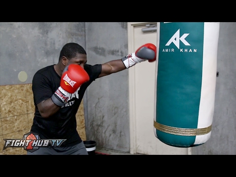 Andre Berto looking sharp, powerful and fast on bag ahead of potential Shawn Porter fight