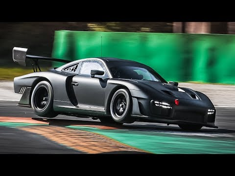 New Porsche 935 Seen At Monza With Sinister All-Black Look