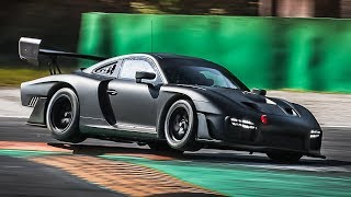 """2019 Porsche 935 Sound in Action: The 2019 """"Moby Dick"""" Testing at Monza Circuit!!"""