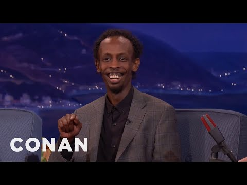 Barkhad Abdi (Captain Phillips) interview - BAFTAs 2014