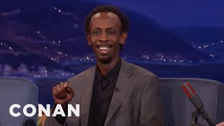 "Barkhad Abdi On The Ubiquity Of ""I'm The Captain Now""  - CONAN on TBS"