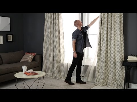 Choose The Right Curtains For Your Home  west elm  YouTube