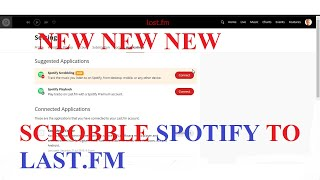 [UPDATED TUTORIAL] NEW METHOD TO SCROBBLE TO LAST.FM FROM SPOTIFY ON ALL APPS