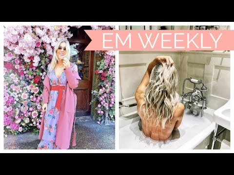 Everything Turned Upside Down, Valentines, Visiting ASOS HQ + Try On | Em Sheldon Weekly