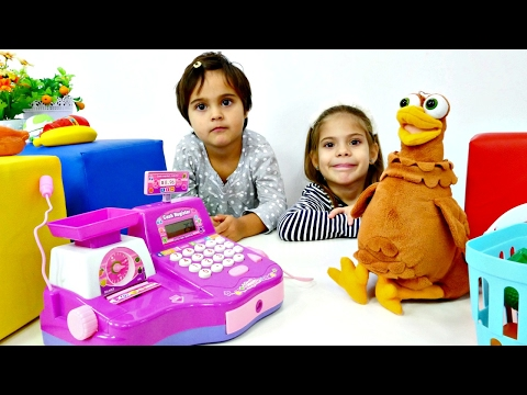 Okul öncesi Oyunlar. Alışveriş Oyunları Bir Arada