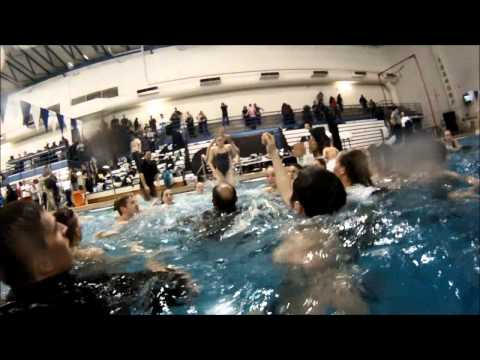 #GrizzVision Oakland Swimming & Diving Celebration 2015 HLs #GoPro