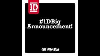 Baixar #1DBigAnnouncement NEW SINGLE LIVE WHILE WERE YOUNG~