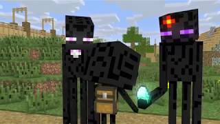 STORY OF MONSTER SCHOOL - SAD STORY (ENDERMAN & ZOMBIE PIGMAN) - MINECRAFT ANIMATION