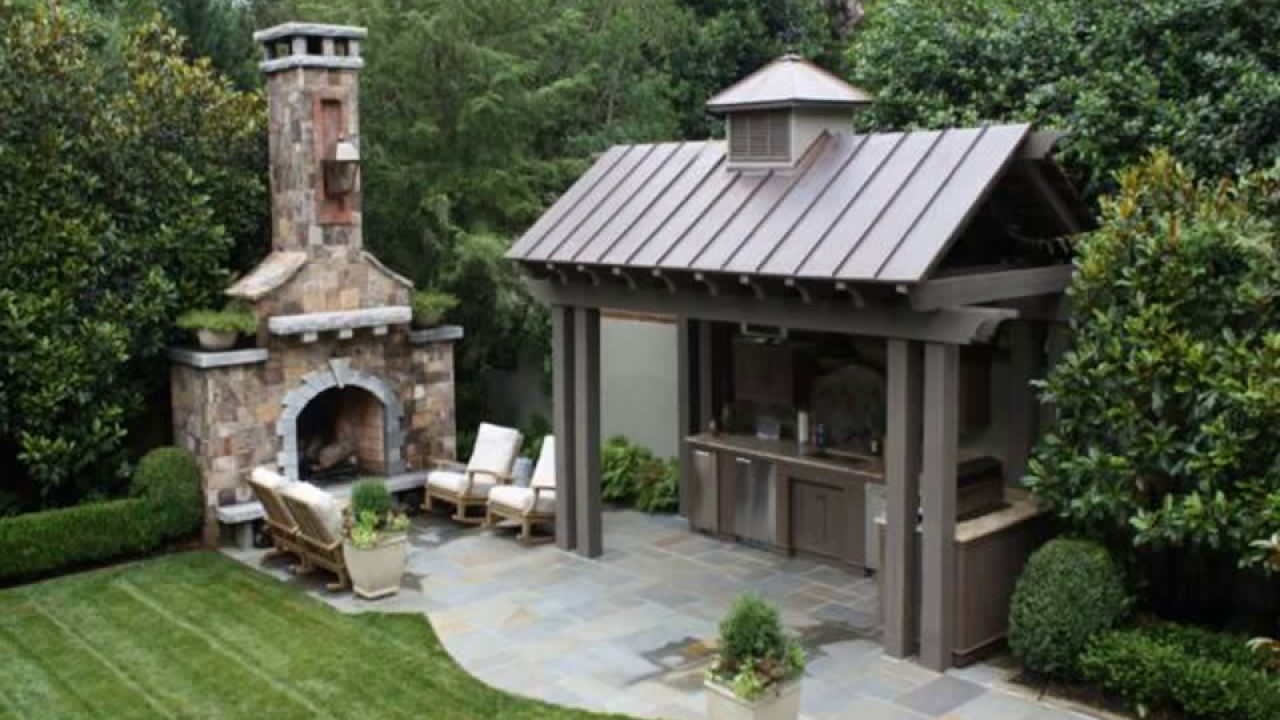 ландшафтный дизайн двора частного дома 7