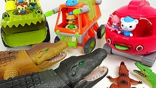 Terrible Crocodile flock appeared!! Go! Octonauts