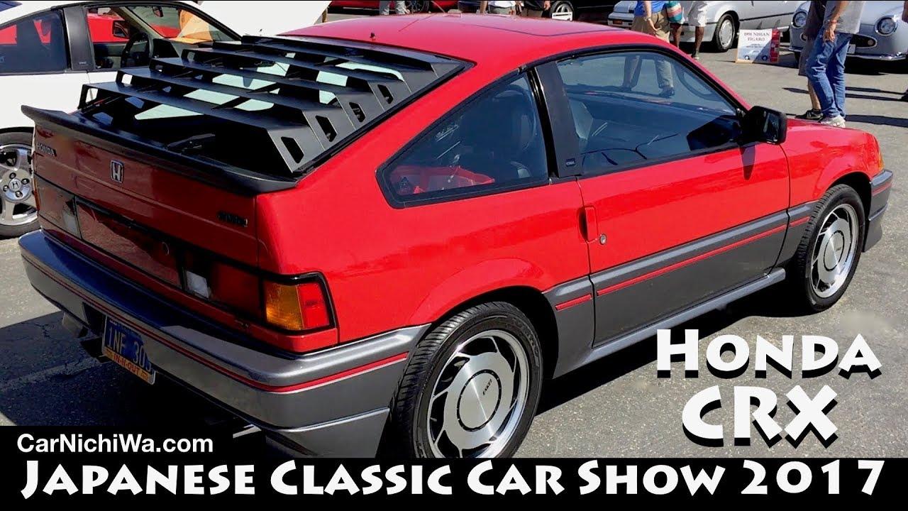 Honda Crx 2017 Anese Clic Car Show Jccs Carnichiwa