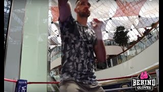 JOSH TAYLOR WORKOUT- PROVING TO BE A THREAT IN THE SUPER LIGHTWEIGHT DIVISION!