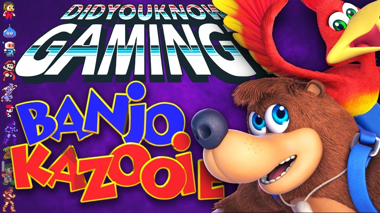 Banjo-Kazooie Secrets - Did You Know Gaming? Feat. The Completionist
