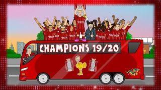 🏆LIVERPOOL CHAMPIONS!🏆 Who Won the League? 2019-2020
