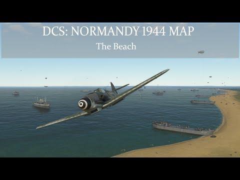 DCS: Normandy 1944 Map - The Beach