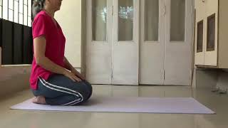Bhujangasana step by step