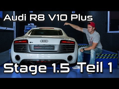Audi R8 V10 Plus |  Stage 1.5 Teil 1 Eingangsmessung  | SimonMotorSport | #286