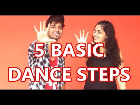 Easy HipHop dance steps - Part 1 | Vicky & Aakanksha
